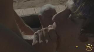 Hot Grandpa Hooks Up With Porn Stars – Calvin Banks, Alex Mecum, Max Adonis